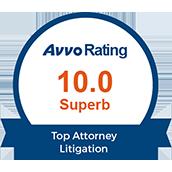 avvo-rating-10-superb-top-attorney-litigation