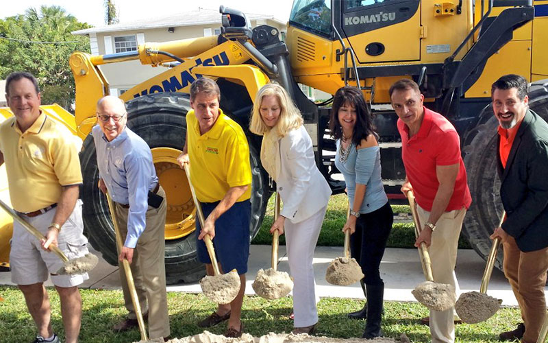 Groundbreaking For Dixie Hwy Complete Streets Project