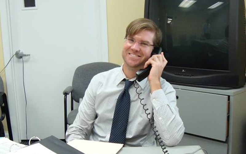 Attorney Romney (Cam) Rogers Volunteers His Time At Legal Aid's Pro Bono Hotline