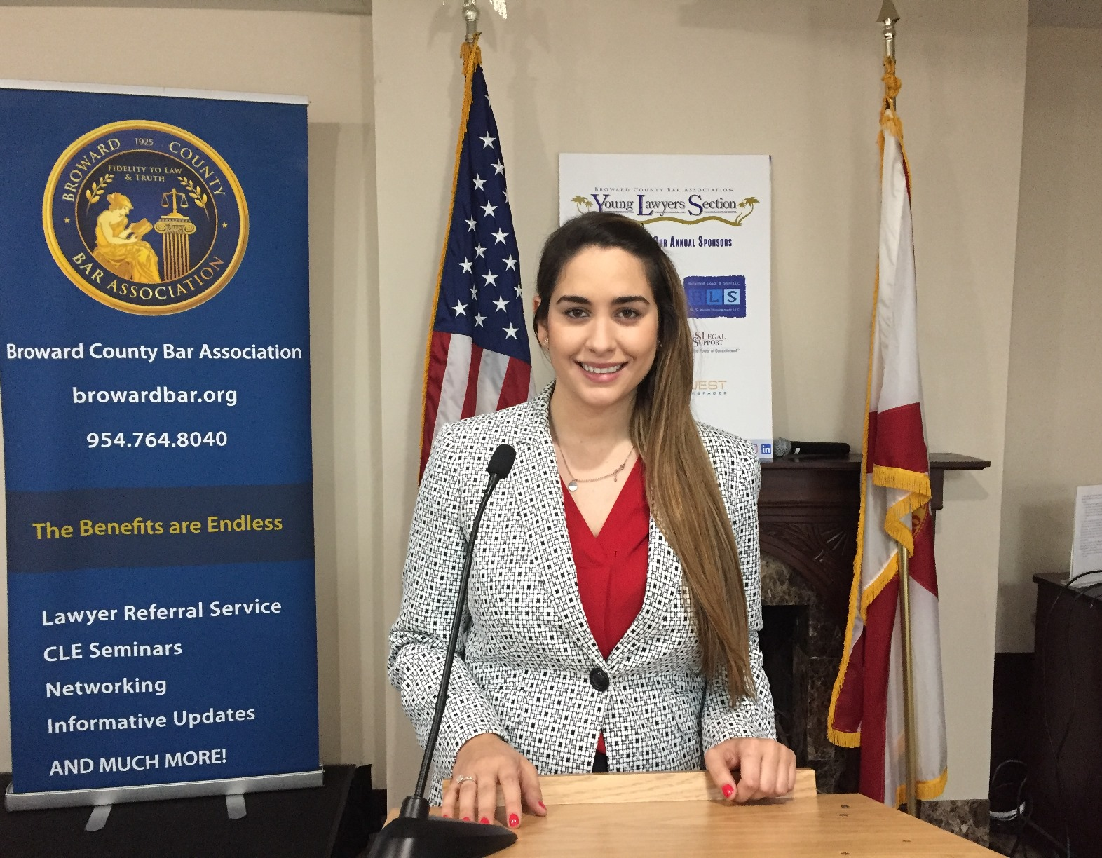 Congratulations To Ale Mendoza On Her Election To The Broward County Bar Association, Young Lawyers Section Board Of Directors!