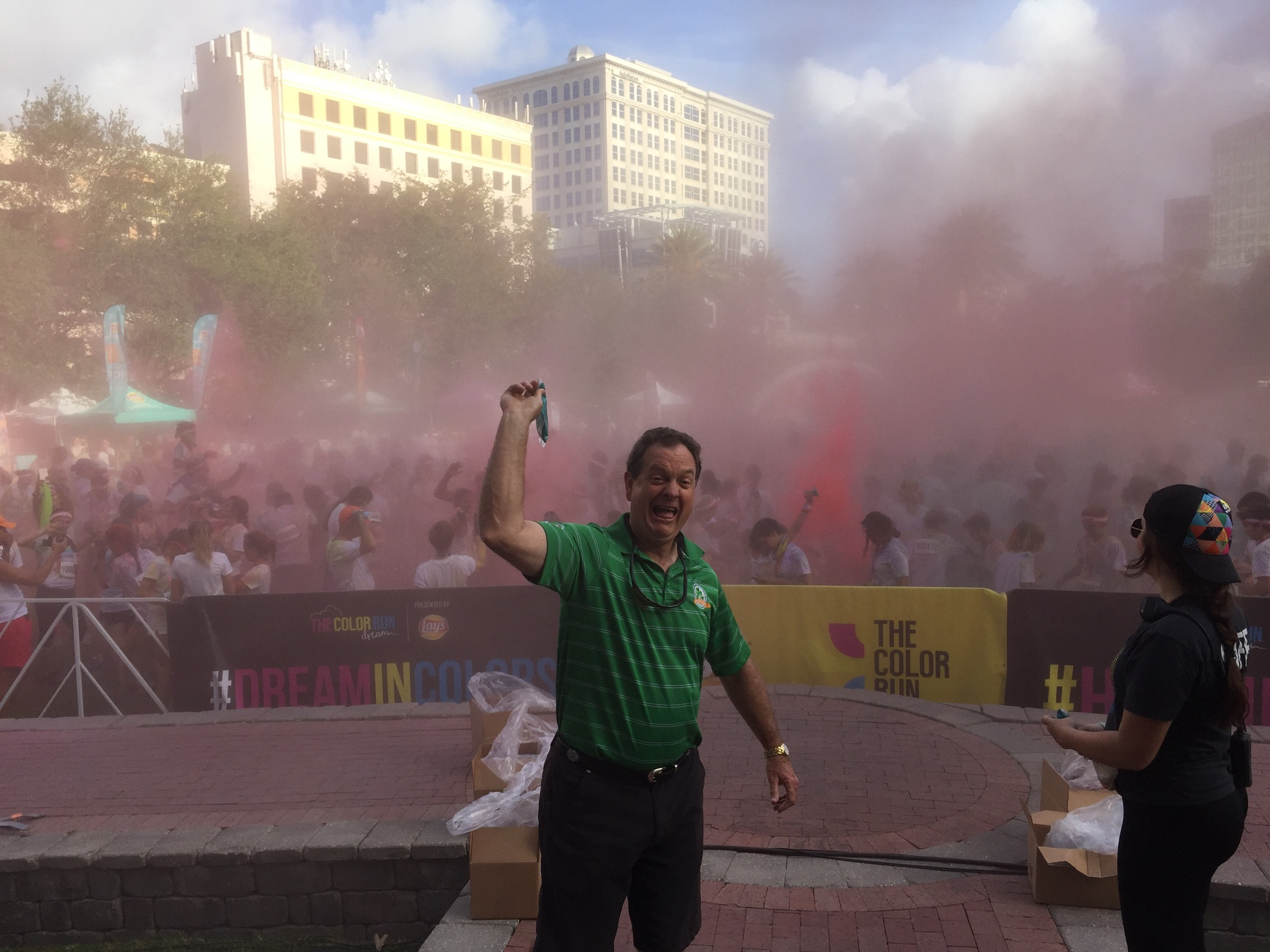 Color Run In Downtown Fort Lauderdale