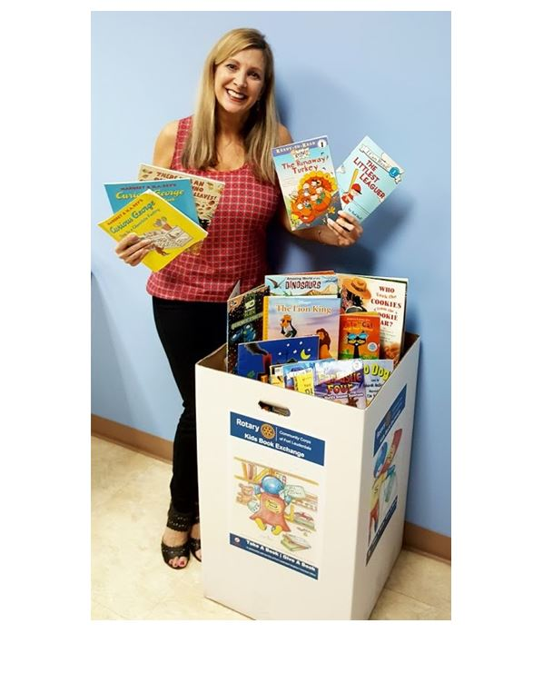 RMZ Drop-Off Spot For Donated Children's Books – Take A Book / Give A Book