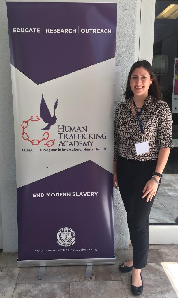 RMZ Partner, Liza Smoker Attends The Human Trafficking Academy At St. Thomas Law School