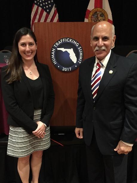 RMZ Partner, Liza E. Smoker, And Former Broward County Sherriff, Al Lamberti, Attend Attorney General Pam Bondi's 2017 Human Trafficking Summit
